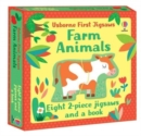 Usborne First Jigsaws: Farm Animals - Book