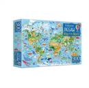 Map of the World Book and Jigsaw - Book