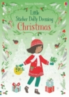 Little Sticker Dolly Dressing Christmas - Book