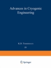 Advances in Cryogenic Engineering : Proceedings of the 1958 Cryogenic Engineering Conference - eBook