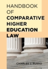 Handbook of Comparative Higher Education Law - eBook