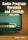 Radio Program Openings and Closings, 1931-1972 - eBook