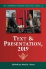 Text & Presentation, 2019 - Book