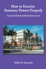 How to Exercise Statutory Powers Properly : Cayman Islands Administrative Law - eBook