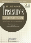 RUBANK TREASURES (VOXMAN) FOR FRENCH HORN BOOK/MEDIA ONLINE - Book