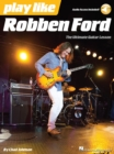Play Like : Robben Ford (Book/Online Audio) - Book