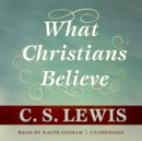 What Christians Believe - eAudiobook