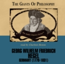 Georg Wilhelm Friedrich Hegel - eAudiobook