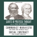 Communist Manifesto and Social Contract - eAudiobook