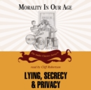 Lying, Secrecy, and Privacy - eAudiobook