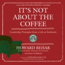 It's Not about the Coffee - eAudiobook