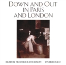 Down and Out in Paris and London - eAudiobook