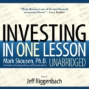 Investing in One Lesson - eAudiobook