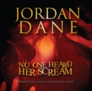 No One Heard Her Scream - eAudiobook