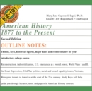 American History, 1877 to the Present, Second Edition - eAudiobook