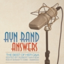 Ayn Rand Answers - eAudiobook