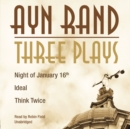 Three Plays - eAudiobook