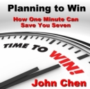Planning to Win - eAudiobook
