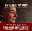 """What Do You Care What Other People Think?"" - eAudiobook"