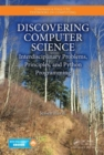 Discovering Computer Science : Interdisciplinary Problems, Principles, and Python Programming - Book