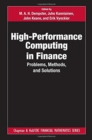 High-Performance Computing in Finance : Problems, Methods, and Solutions - Book