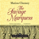 The Savage Marquess - eAudiobook