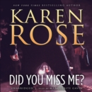 Did You Miss Me? - eAudiobook