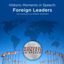 Historic Moments in Speech: Foreign Leaders - eAudiobook