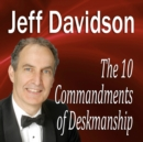 The 10 Commandments of Deskmanship - eAudiobook