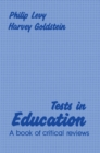 Tests in Education : A Book of Critical Reviews - eBook