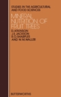 Mineral Nutrition of Fruit Trees : Studies in the Agricultural and Food Sciences - eBook