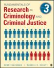 Fundamentals of Research in Criminology and Criminal Justice - Book
