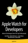 Apple Watch for Developers : Advice & Techniques from Five Top Professionals - eBook