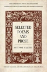 Selected Poems and Prose - Book