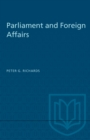 Parliament and Foreign Affairs - eBook