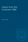 Letters from the Continent 1858 - eBook