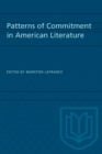 Patterns of Commitment in American Literature - eBook