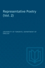 Representative Poetry : Volume 2 - eBook