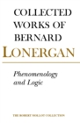 Phenomenology and Logic : The Boston College Lectures on Mathematical Logic and Existentialism, Volume 18 - eBook