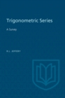 Trigonometric Series : A Survey - eBook