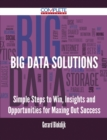 Big Data Solutions - Simple Steps to Win, Insights and Opportunities for Maxing Out Success - eBook
