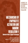 Mechanisms of Lymphocyte Activation and Immune Regulation V : Molecular Basis of Signal Transduction - eBook