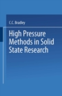 High Pressure Methods in Solid State Research - eBook