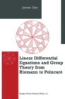 Differential Equations and Group Theory from Riemann to Poincare - eBook