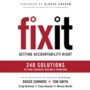Fix It : Getting Accountability Right - eAudiobook
