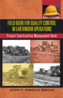 Field Book for Quality Control in Earthwork Operations : Project Construction Management Book - eBook