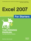 Excel 2007 for Starters: The Missing Manual : The Missing Manual - eBook