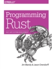 Programming Rust - Book