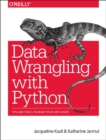Data Wrangling with Python - Book