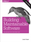 Building Maintainable Software, Java Edition : Ten Guidelines for Future-Proof Code - eBook